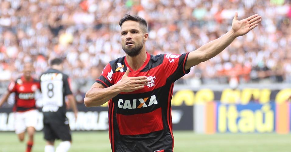 Diego exaltou a temporada do Flamengo apesar da dificuldade na reta final do Brasileirão