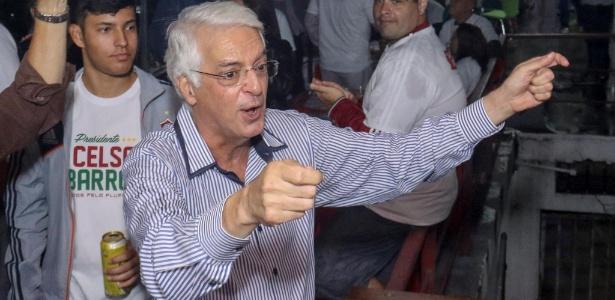 Celso Barros, presidente da ex-patrocinadora do clube, é candidato a deputado federal - Divulgação