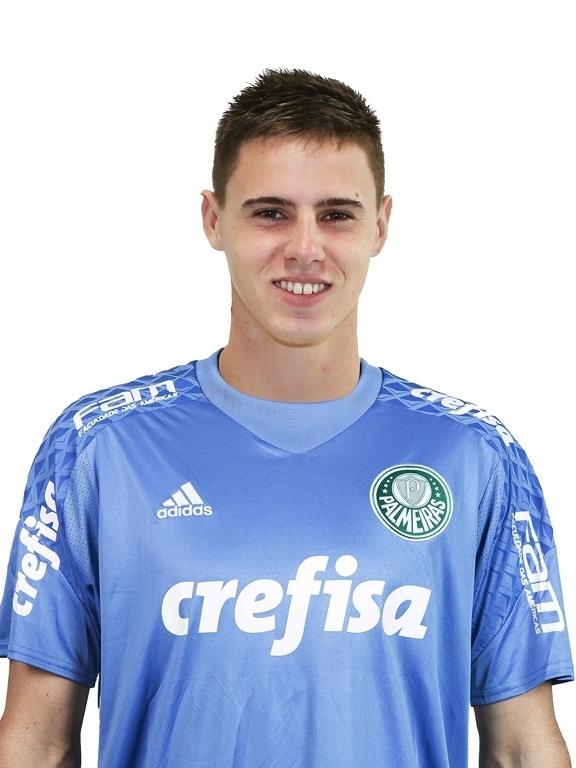 Matheus Teixeira, goleiro do Palmeiras