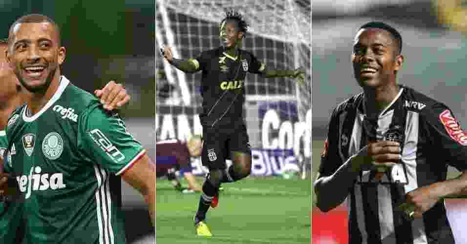 Paulo Fernandes/Vasco.com.br - Bruno Cantini/Atlético - Cesar Greco/Ag Palmeiras