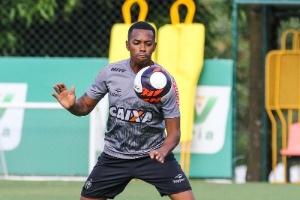 Robinho acena com renovação de contrato com o Atlético-MG (Foto: Bruno Cantini/Clube Atlético Mineiro)