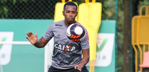 Robinho ainda não tem presença confirmada no clássico com o América-MG - Bruno Cantini/Clube Atlético Mineiro