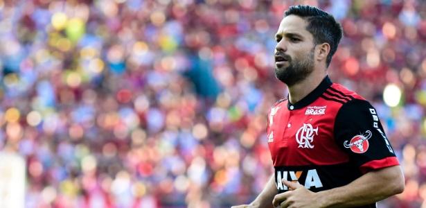 O meia Diego é uma das dúvidas do Flamengo para o clássico contra o Fluminense