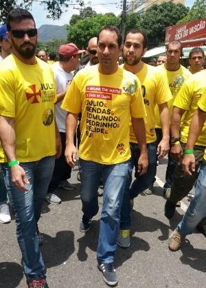 Edmundo apoio Julio Brant na eleição vascaína