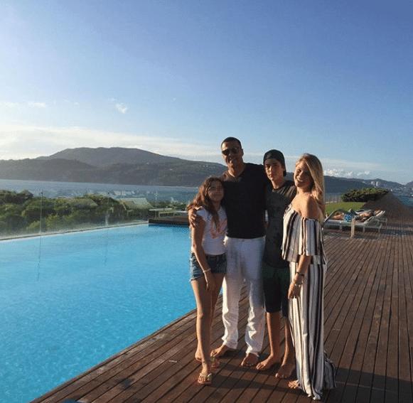 Júlio César e sua família