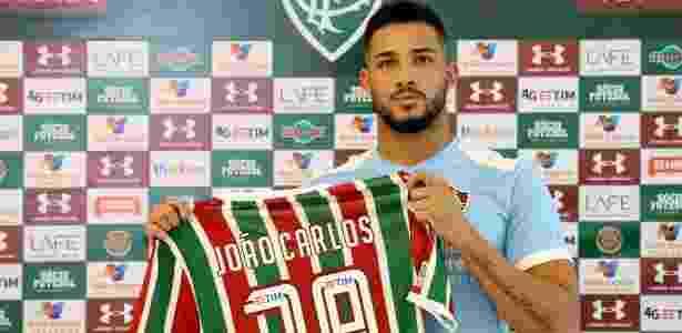 Atacante não aprovou no Fluminense e foi reemprestado - Lucas Merçon/Fluminense