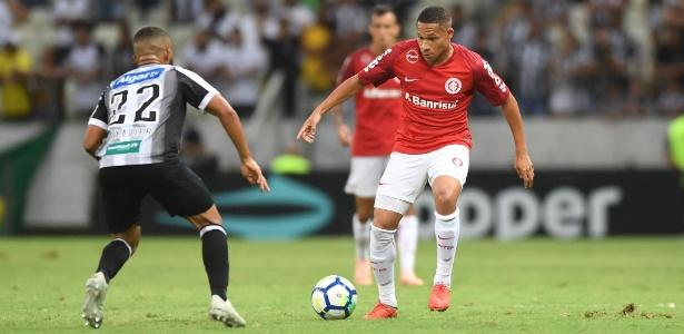 Wellington Silva virou primeira alternativa nos jogos finais da temporada 2018 pelo Inter - Ricardo Duarte/Inter