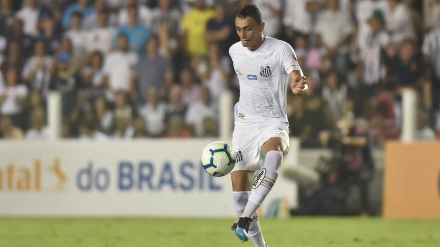 Diego Pituca em partida do Santos contra o Vasco - Ivan Storti/Santos FC