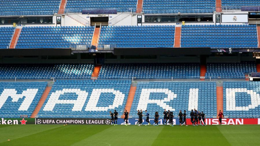 Estádio Santiago Bernabéu, do Real Madrid - Sergio Perez/Reuters