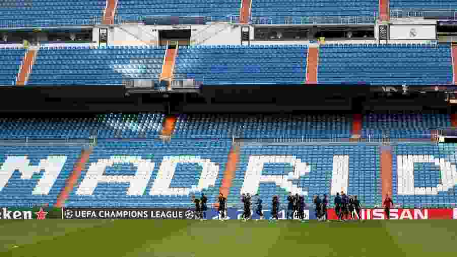 Estádio Santiago Bernabéu, do Real Madrid - Sergio Perez/Reuters