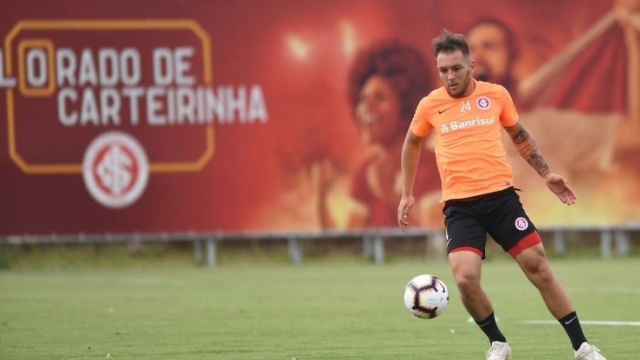 Bruno José, atacante do Inter, jogará no CSA em 2020 em movimento do mercado da bola - Ricardo Duarte/Inter