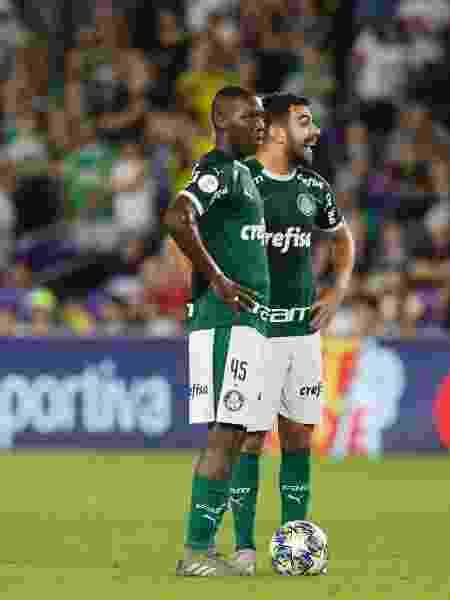 Patrick estreou jogando 45 minutos ao lado de Bruno Henrique e teve atuação boa - Rafael Ribeiro/Florida Cup