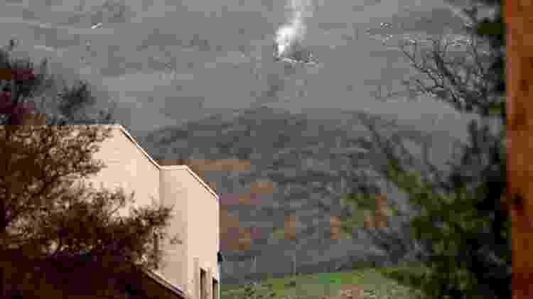 Região do acidente aéreo que matou Kobe Bryant e mais oito pessoas na Califórnia - Jayne Kamin-Oncea/USA TODAY Sports