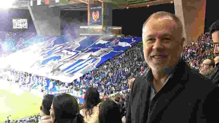 Mano Menezes viajou a Portugal para estudar futebol e assistir jogos - Arquivo Pessoal
