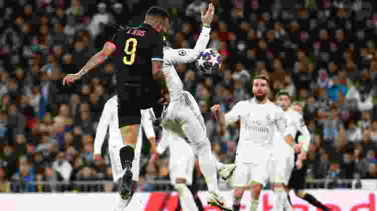 Gabriel Jesus Manchester City gol - Sergio Perez/Reuters - Sergio Perez/Reuters