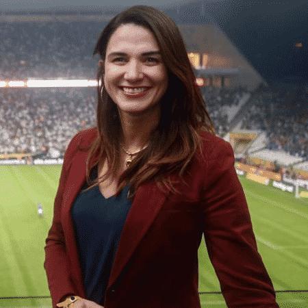 A presidente da Federação Paraibana de Futebol (FPF), Michelle Ramalho - Divulgação/FPF