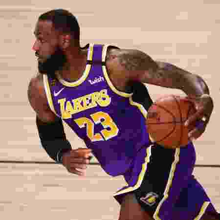 LeBron James, jogador do Los Angeles Lakers - Kim Klement-USA TODAY Sports