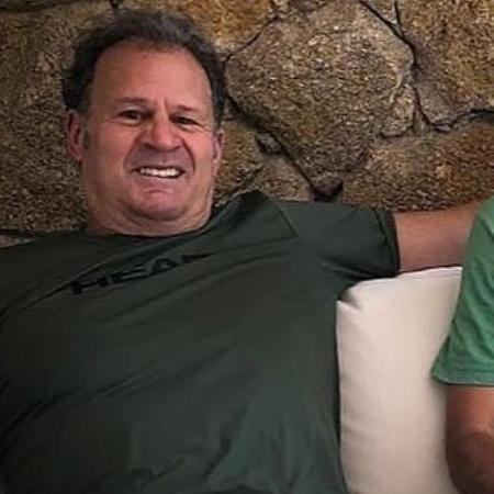 Marcelo Meyer, ex-jogador de tenis e treinador de Fernando Meligeni, Andrea Dadá Vieira e Cassio Motta - Arquivo pessoal/Facebook