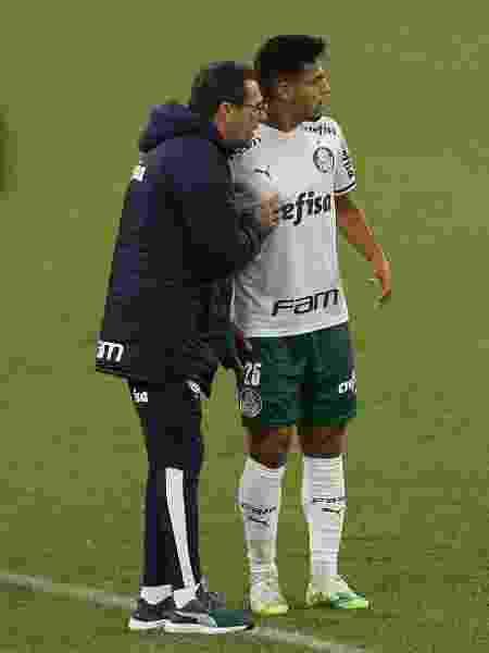 Contratado para fomentar a base palmeirense, Luxa foi quem revelou o jovem Gabriel Menino - Agência Palmeiras - Agência Palmeiras