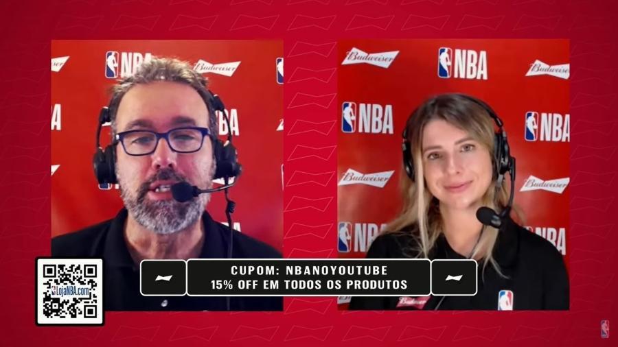 YouTube derruba jogo em canal oficial da NBA por direitos autorais da Globo - Reprodução/YouTube