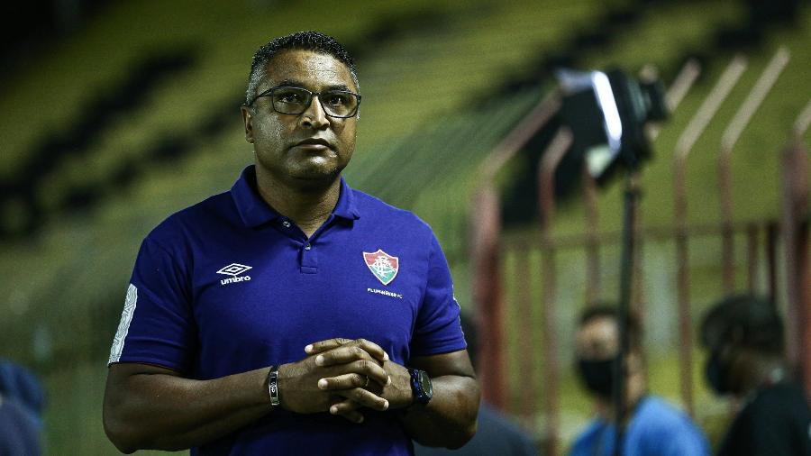 Roger Machado elogiou atuação do Fluminense na vitória sobre o Macaé pelo Campeonato Carioca - Lucas Merçon/Fluminense FC