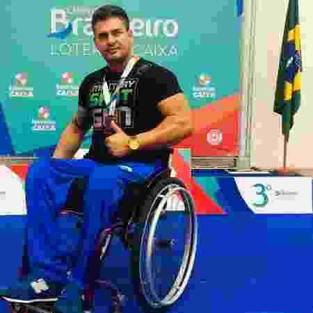 Aparecido Lopes, atleta paralímpico, foi vítima da covid-19 - Reprodução/Redes sociais - Reprodução/Redes sociais
