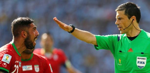 Milorad Mazic foi escolhido como pior árbitro da Copa do Mundo de 2014 - Sérgio Moraes/Reuters