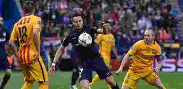 """Niguez agrada à diretoria do Barça. Negociação depende de um """"não"""" de Verratti - Gerard Julien/AFP Photo"""