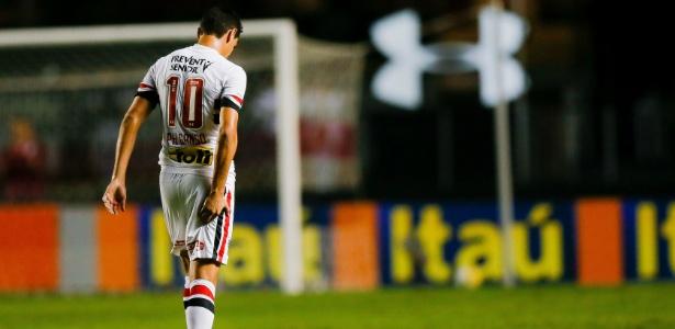 Ganso se machucou contra o Flu e está fora do 1º jogo da semi da Libertadores