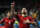 """Veja o que faz o """"Mágico"""", melhor do mundo do futsal que tem Falcão tatuado - Tom Dulat/Getty Images for UEFA)"""
