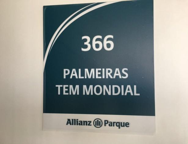 Palmeiras tem Mondial: empresa possui camarote desde a inauguração do Allianz Parque - UOL Esporte