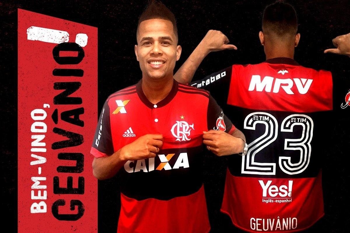 2d9a9d8cdd Flamengo confirma contratação de Geuvânio por empréstimo até fim de 2018 -  21 06 2017 - UOL Esporte