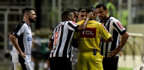 Fred foi expulso contra o Botafogo e escapou de punição maior no Tribunal - André Yanckous/AGIF