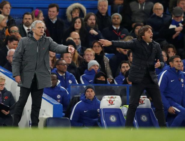 Rivalidade entre Mourinho e Conte ganhou um novo capítulo nesta sexta-feira
