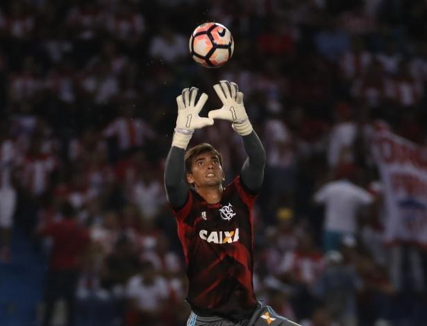 O goleiro César foi o nome da classificação do Flamengo junto ao atacante Felipe Vizeu