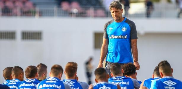 Time treinado por Renato Gaúcho não jogará as primeiras rodadas do Gauchão