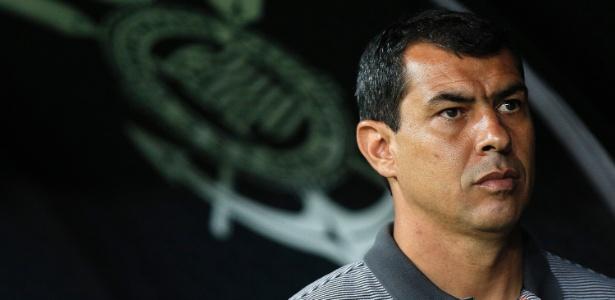 Carille cobrou uma atitude diferente do treinador do São Paulo
