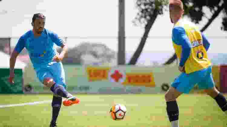 Edilson treina no Cruzeiro - Vinnicius Silva/Cruzeiro - Vinnicius Silva/Cruzeiro
