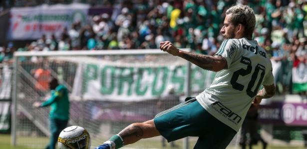 Lucas Lima seguirá como titular do Palmeiras diante do Boca nesta quarta