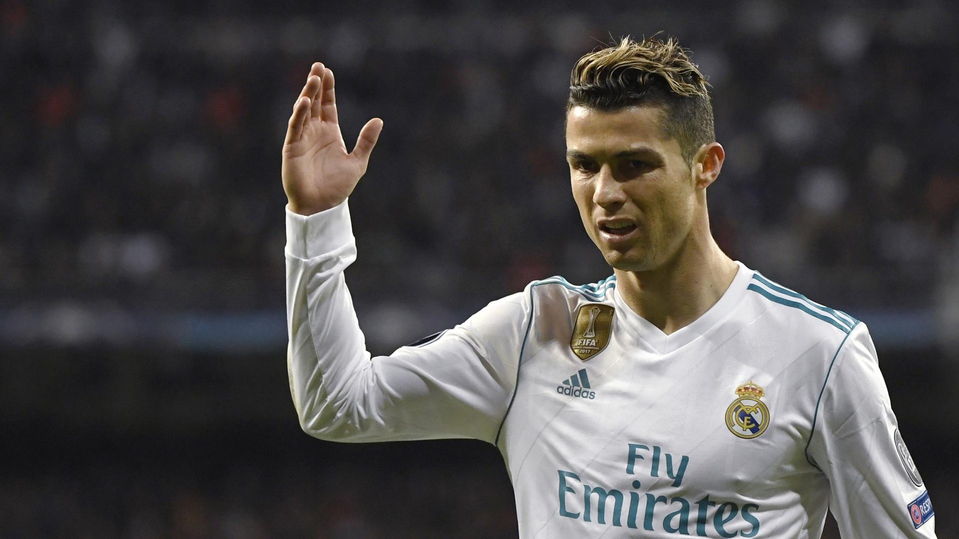 Nervoso, Cristiano Ronaldo não fez um bom primeiro tempo