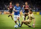 """Raniel admite que não foi tocado, mas questiona cartão: """"não me joguei"""" - Vinnicius Silva/Cruzeiro"""