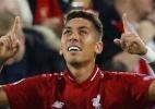 """Mané exalta Firmino por gol decisivo: """"não precisa de olho para jogar"""" - Phil Noble/Reuters"""