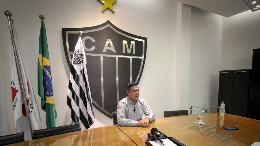 Sérgio Sette Câmara, presidente do Atlético-MG, evita falar sobre eleições no clube - Bruno Cantini/Divulgação/Atlético-MG