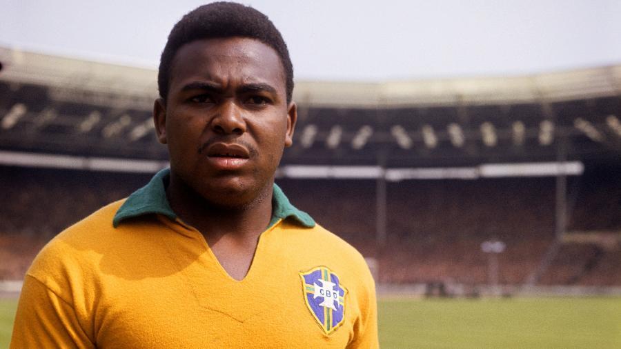 Coutinho atuou pela seleção brasileira e conquistou a Copa do Mundo de 1962 - Pedro Ernesto Guerra Azevedo/Divulgação SantosFC