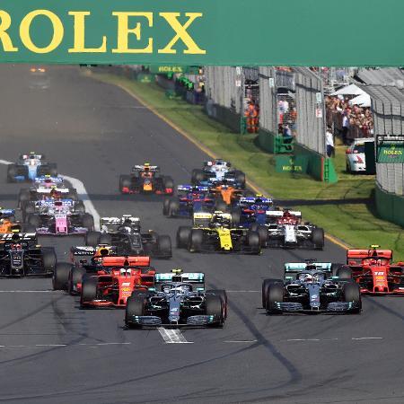 GP da Austrália não deve abrir a temporada da F-1 - PETER PARKS/AFP