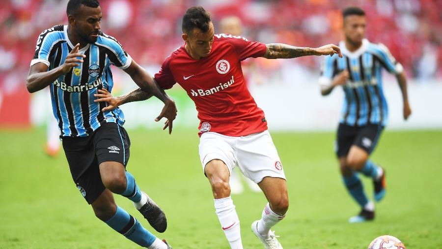 Iago é o jogador mais valorizado do grupo do Inter nas últimas semanas e deve deixar o clube - Ricardo Duarte/Inter