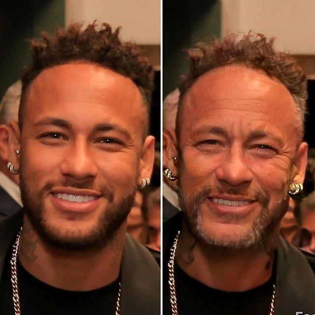 Neymar foi mais um a usar o