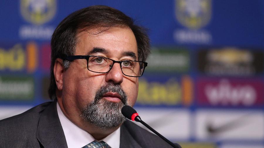 Marco Aurélio Cunha é coordenador de futebol feminino da CBF e tem o apoio de Carlos Caboclo - Lucas Figueiredo / MoWA Press