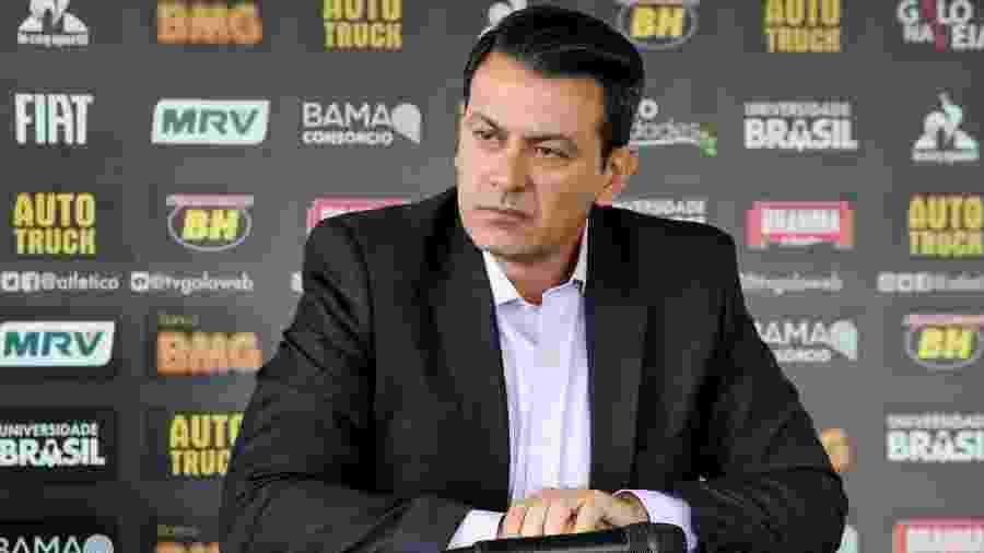 Rui Costa é diretor de futebol do Atlético-MG há quatro meses - Bruno Cantini/Divulgação/Atlético-MG