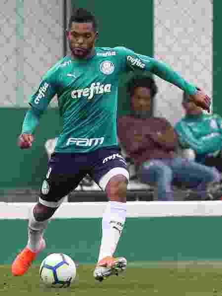 Miguel Borja, atacante do Palmeiras - Cesar Greco/SE Palmeiras